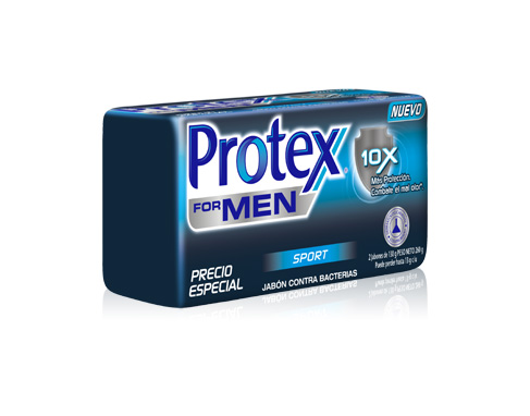 Protex® For Men Sport Barra x2